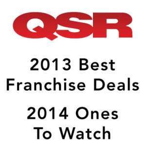 QSR Magazine best franchise deals, ones to watch