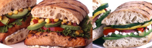 Fresh, hand pressed, grilled panini sandwiches at Fresh To Order