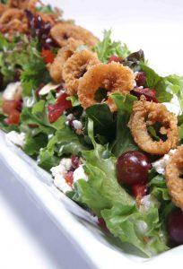 Mediterranean Salad Calamari